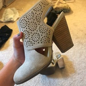 Sole Society Cutout Booties